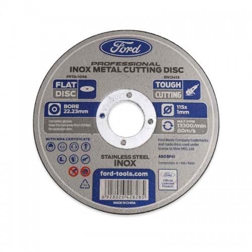 DISCO FORD CORTE ACERO  INOX 125X1X22MM